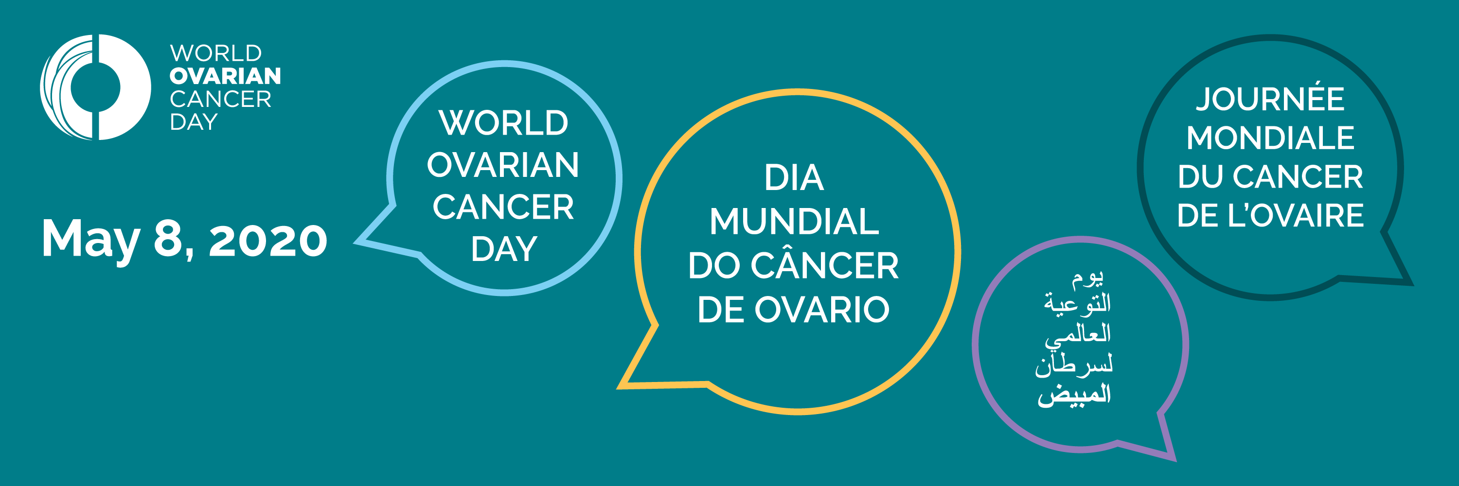 World Ovarian Cancer Day May 8th World Ovarian Cancer Coalition